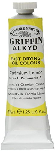 winsor-newton-1916086-37ml-griffin-alkydes-couleur-tube-citron-de-cadmium