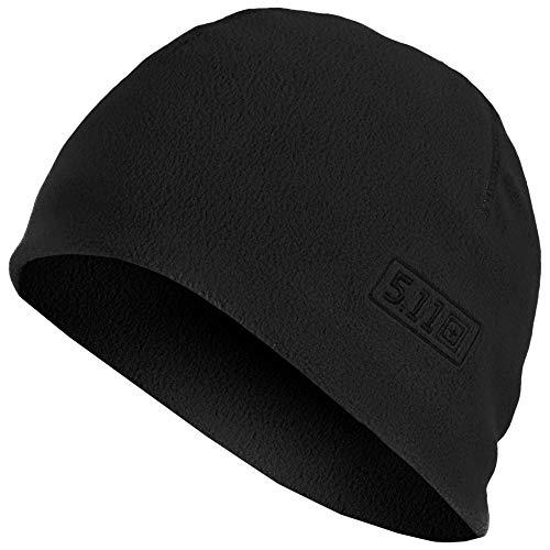 5.11 Tactical Watch Cap Cold Weather Outdoor Fleece Beanie Style 89250, Herren, schwarz, Small/Medium