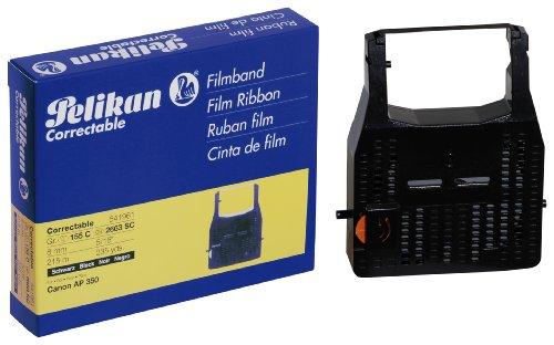 Pelikan 155 C Farbband correctable (kompatibel zu Canon AP 350, 8 mm x 215 m) schwarz