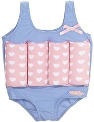 Beverly Kids Mädchen UV Schutz Bojen-Badeanzug Lovely Heart