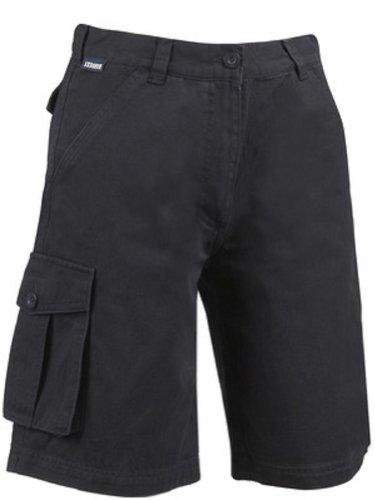 James Harvest- Summerdale Twill Short 100%  coton pour femmes classique, 3 couleurs, tailles XS à XXL) Bleu - Bleu marine