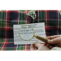 Hand Made Whisky Barrel Stave Magnifying Glass (From the Highlands of Scotland)