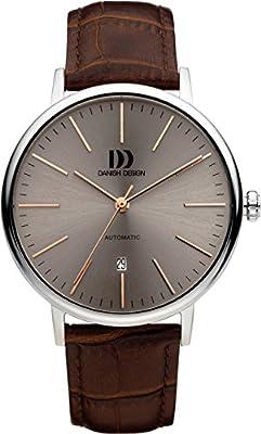 Danish design Unisex-reloj IQ17Q1074 analógico automático piel IQ17Q1074 de Danish Design