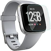 Cyond Displayschutzfolie für Fitbit Versa (1 Stück), entspiegelte 9H-Härte, Kratzfest, ölbeständig, Abriebfeste, kugelsichere Displayschutzfolie (Fitbit Versa, Fitbit Versa-Glas), Matte Folie