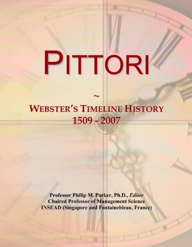 pittori-websters-timeline-history-1509-2007