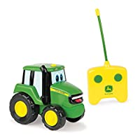 John Deere Remote Controlled Johnny Tractor | Remote Control Car Farm Toy | RC Car Kids Toy Suitable For 18 Months & 2, 3, 4+ Years Old Boys & Girls