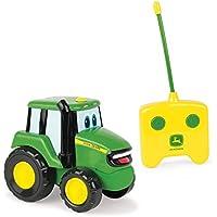 "TOMY Spielzeugtraktor John Deere ""Johnny Traktor"" in grün - ferngesteuerter Kindertrecker aus Kunststoff - ab 18 Monate"