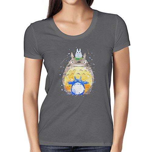 TEXLAB - Aquarell Nachbar - Damen T-Shirt Grau