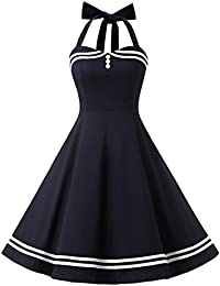 0fbd7e08f669 ... Vêtements   Femme   Sportswear   T-shirts et tops de sport. Timormode  Sexy Robe Rétro Vintage Robe Rockabilly Swing Décolleté ...