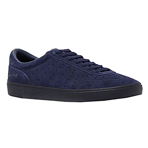 Baskets mode Fred Perry Umpire Suede Carbon Blue B9067