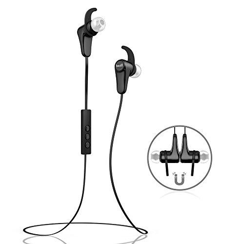 Beatit® G18 Cuffie Wireless Bluetooth 4.1 per Smartphone – Auricolari Stereo In-Ear, Sweatproof, adatte anche per attività sportive