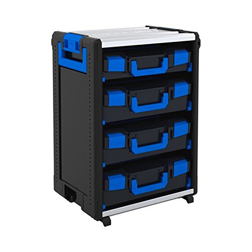 Sortimo WorkMo 24-750 inklusive 8 Kofferschienen, 3 L-BOXXen 136 und 1 L-BOXX 102, 1000004448