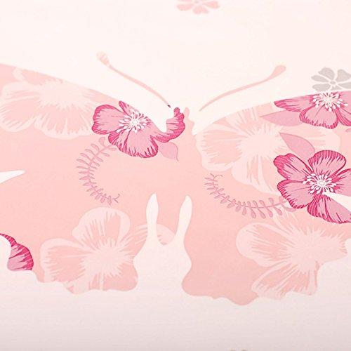Zhzhco Verdickung Pvc Selbstklebend Papier Für Wandplakate Geprägte Tapeten Der Pastoralen Kinderzimmer Wohnzimmer Hintergrund Geschrieben Von Gelben Schmetterling 10 Meter Installiert