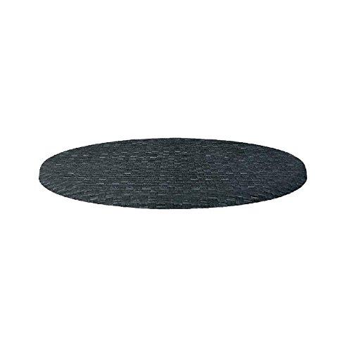 Werzalit Gastronomie Tischplatte Plus CL048Tisch rund TOP, 700mm, Rattan Anthrazit