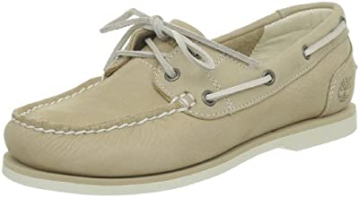 Timberland Classic Boat FTW_EK Classic Boat Unlined Boat Shoe 3941R - Náuticos de cuero para mujer