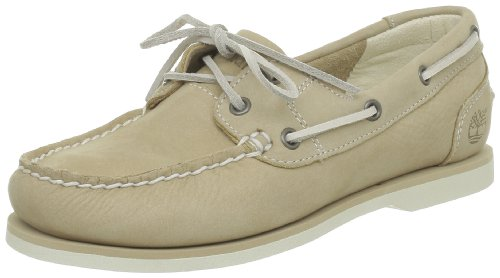 Timberland Classic Boat FTW EK Unlined Shoe 3941R, Damen, Beige (Light Tan), EU 38 (US 7)