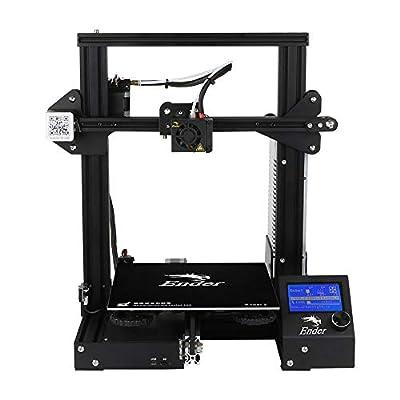 Creality Ender-3 3d Printer 3D-Drucker Economic ender DIY KITS with resume printing function V-slot Prusa I3 220x220x250mm