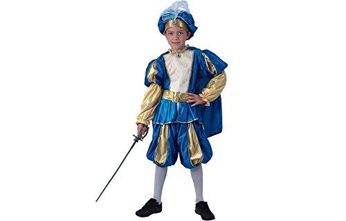 2Prinz Kostüm, blau, mittel (Männliche Prinz Kostüm)