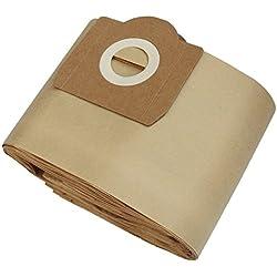 Clean Fairy La Poussière Sac papier pour Rowenta ZR 80 ZR81 ZR814 ZR82 Karcher A2700 Hoover H31 S6145 17 litres - 10 bags