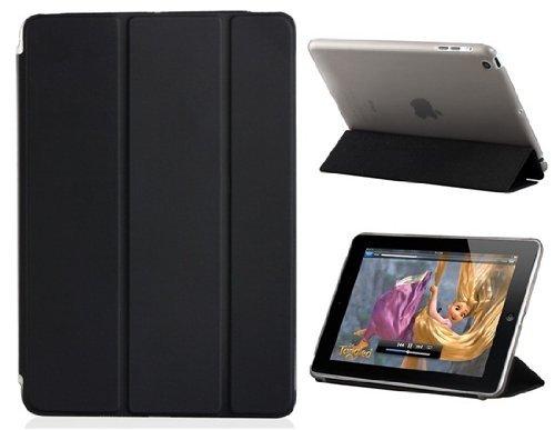 Nvstore Smart Case Foldable Ultra Slim Flip Cover For For Apple Ipad mini 4 (Black)