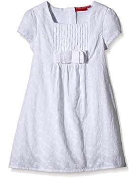 SALT AND PEPPER Mädchen Kleid Dress Weiß Schleife