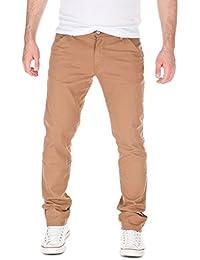 Yazubi Herren Chino Hose, Modell Jason, verstellbares Hosenbeinende