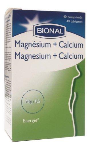 Bional - Magnésium + Calcium - 40 Comprimés