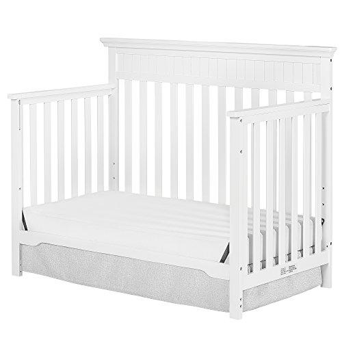 Dream On Me Chesapeake 5-In-1 Convertible Crib, Snow Fall