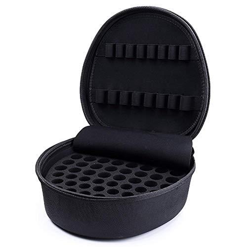 Große Kapazität Ätherisches Öl Tasche Essential Oil Case Tragetasche Ätherisches Ölen Box Reise Organizer Wasserdicht Hartschale Nagellack und Liquidflaschen Aufbewahrungstasche für 5ml,10ml,15ml - Essentials Tasche