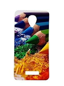 Mintzz Printed Back Cover For Lava Iris Selfie X1