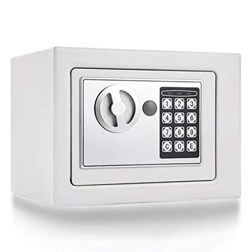 Y-BXX Caja Fuerte pequeña ignifuga, Cerradura de combinación de electrónica Digital, Caja Fuerte...