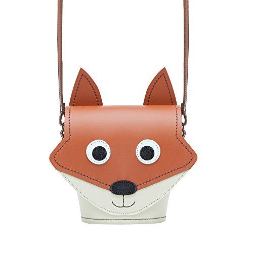 Zatchels Damen Leder-Handtasche mit Tier-Design, handgefertigt in Großbritannien Buster der Boxer