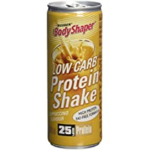 WEIDER Low Carb Protein Shake Cappuccino 24 Cannette de 250 ml