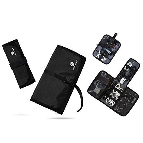 Bags-mart Portatile Multifunzione Organizzatore Custodia da Viaggio per Accessori Elettronici