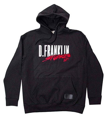 D. Franklin Unisex Kapuzen-Sweatshirt Hoodie Negro Estudios, Schwarz, S (Franklin Kapuze)