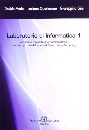 Laboratorio di informatica: 1