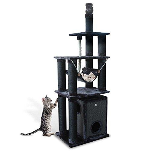 CanadianCat Company Deckenspanner - Kratzbaum XXL Toronto 3 für große & schwere Katzen in Luxusausführung