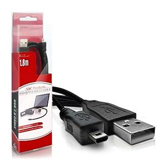 ABC Products® Panasonic USB-Kabel (für Picture Transfer / Ladegerät - Unterstützt Laden in bestimmten Modellen) für die meisten Lumix Serien Digitalkamera (Modelle unten angegeben)