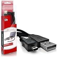 ABC Products® reemplazo Sony Cable USB (para transferencia de imágenes / cargador de batería – apoya la carga en determinados modelos) para la cámara digital Alpha D-SLR / Cyber-Shot (modelos enumerados a continuación)