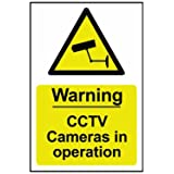 Scan 1311 200 x 300mm PVC Warning CCTV Cameras In Operation Sign