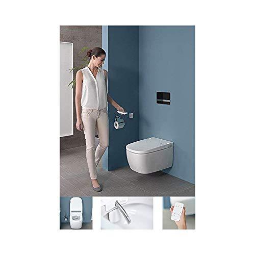 Vitra V-Care Comfort Spülrandloses Dusch-WC mit Taharet/Bidet 5674B403-6124