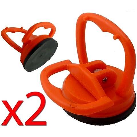 2 x Mini Extractores De Abolladuras - Tazas De La Succión - Removedor De Dent Herramientas
