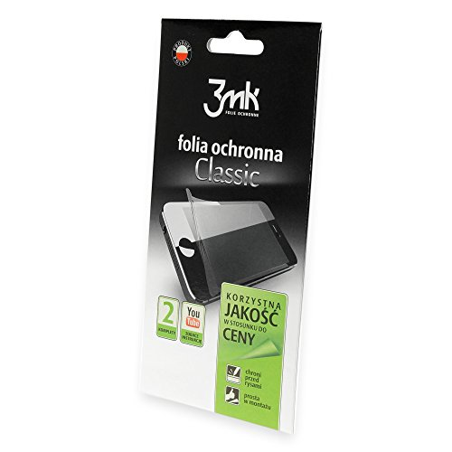 3MK F3MK_Classic_XPERIAE3 Klassische Bildschirmschutzfolie für Sony Xperia E3 (2-er Pack)