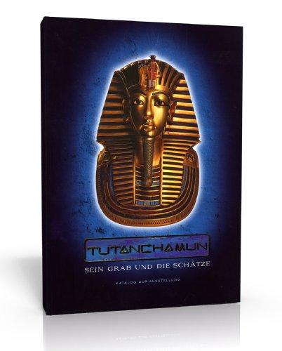 Tutanchamun - Sein Grab und die Schätze - Buch/Katalog zur Ausstellung - Buchumschlag: Prägedruck