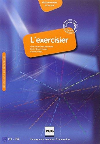L'exercisier - Manuel D'expression Francaise: CECR B1-B2 (French Edition) by Christiane Descotes-Genon (2013-05-24)