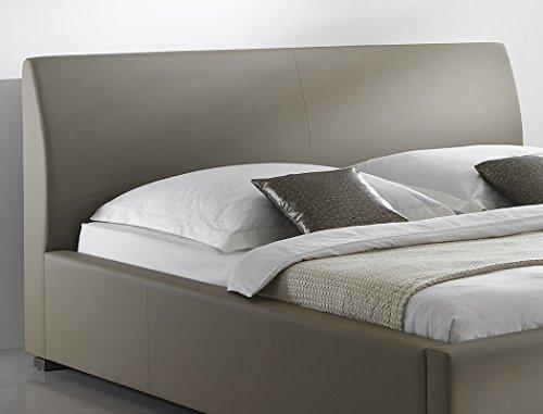 expendio Polsterbett Bett Albero Comfort Muddy Kunstleder Seniorenbett Doppelbett Ehebett Kunstlederbett