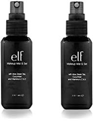 (2 Pack) E.l.f. Studio Makeup Mist & Set - Clear by e.l.f. Cosmetics