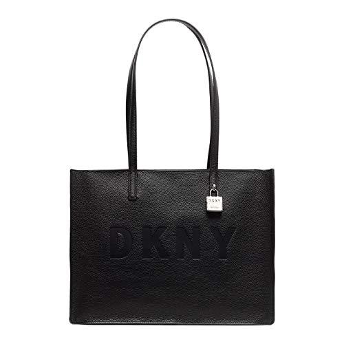 DKNY Borsa a spalla Commuter Large in pelle nera