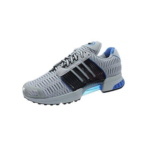 Adidas BB0539 Herren Training Schuhe, Mehrfarbig (Schwanrz/Grau/Blau),43 1/3 (Herren-training Schuhe)