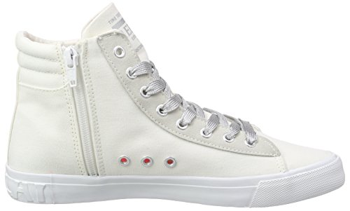Replay Alame, Baskets hautes femme Blanc - Weiß (OFF WHITE 41)